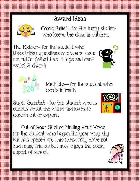 award ideas kindergarten squared awards ideas for your kiddos