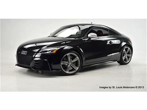 Audi Tt Rs Manual Transmission by Buy Used 2013 Audi Tt Rs Coupe 6 Speed Manual Black