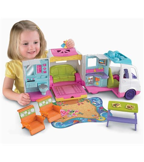 fisher price loving family vacation mobile home