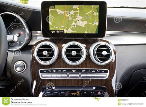 mercedes gps system mercedes all new glc suv 2015 gps system editorial