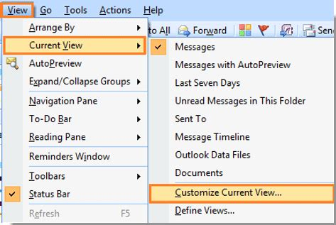 Search For Unread Emails In Outlook How To View Only Unread Messages In Outlook