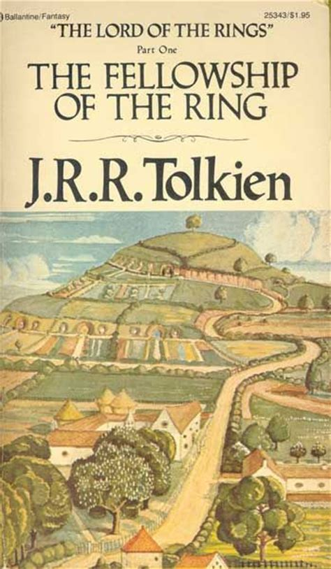 the ring books the fellowship of the ring ballantine with tolkien cover