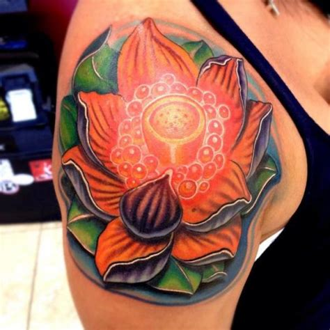 new school lotus tattoo lotus flower tattoo by mike woods best tattoo ideas gallery