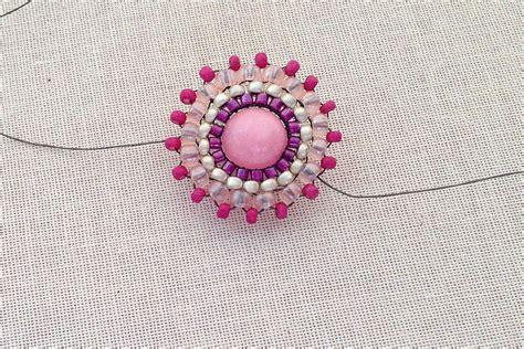 tutorial circular brick stitch   bead
