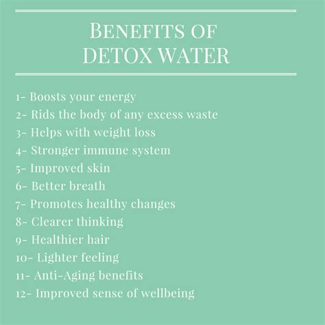 The Benefits Of Detoxing by Infused Water Benefits