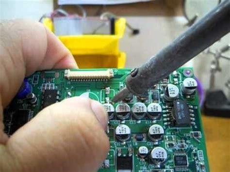 capacitor smd em curto retirando capacitores smd ferro de solda comum