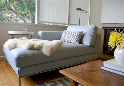sheepskin throw for sofa niche interiors san francisco interior designer