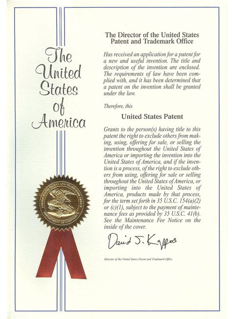patent certificate template company profile excellence wire ind co ltd