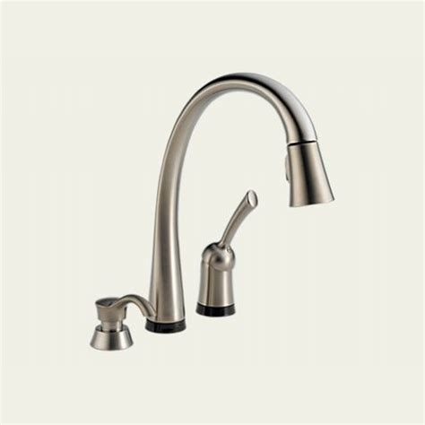 shop delta esque with touch2o technology chrome 1 handle shop delta esque with touch2o technology arctic stainless