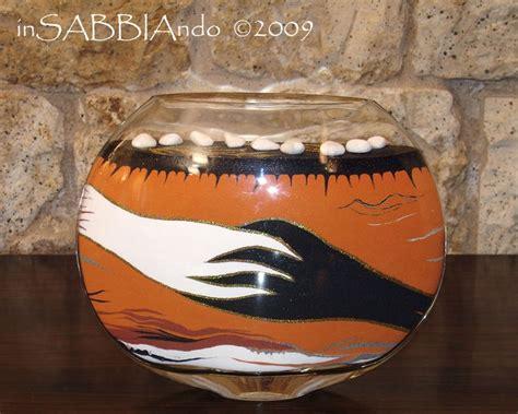 sabbia colorata per vasi insabbiando sand vasi e bottiglie di vetro decorate