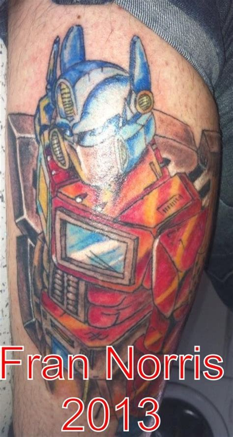 optimus prime tattoo optimus prime transformers tattoos