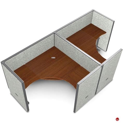 2 Person L Shaped Desk The Office Leader 2 Person L Shape Office Desk Cubicle Cluster Workstation