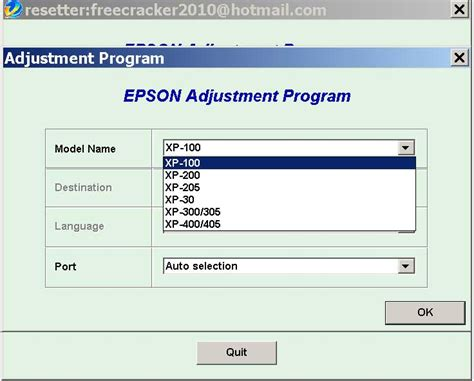 Resetter Epson Xp 215 | resetter epson xp 215 reset epson printer by yourself