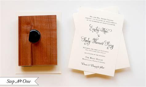rubber st wedding invitation diy quot blue box quot inspired rubber st wedding invitations