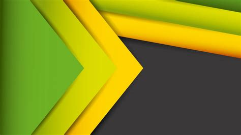 wallpaper abstract lines stock yellow green hd