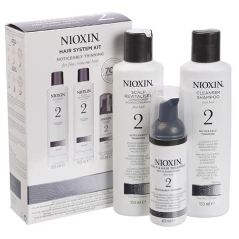 nioxin hair system kit 2 for noticeably thinning natural nioxin nioxin hair system kit 2 review beauty bulletin