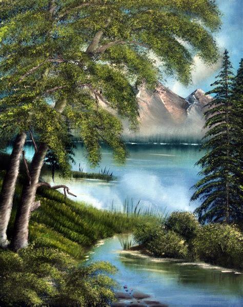 bob ross painting nature s paradise bob ross tribute 5 by vivalavida on deviantart