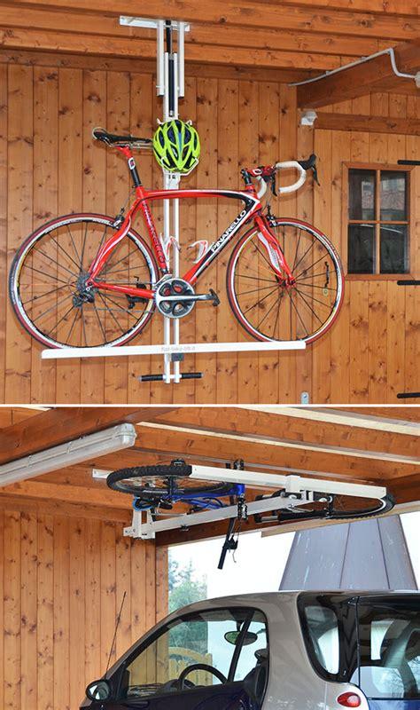 flat bike lift garage at werd