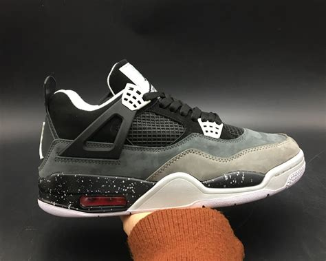 Cool Grey Air 4 For Sale by Air 4 Retro Fear Black White Cool Grey Platinum For Sale Jordans 2018