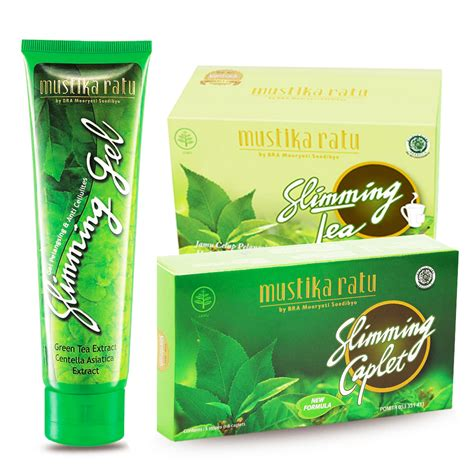 Slimming Gel Mustika Ratu mustika ratu slimming series slimming tea sirsak