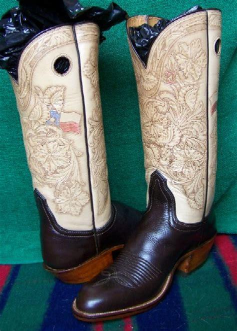 Buckaroo Biker Boots Vintage Handmade - custom made boots
