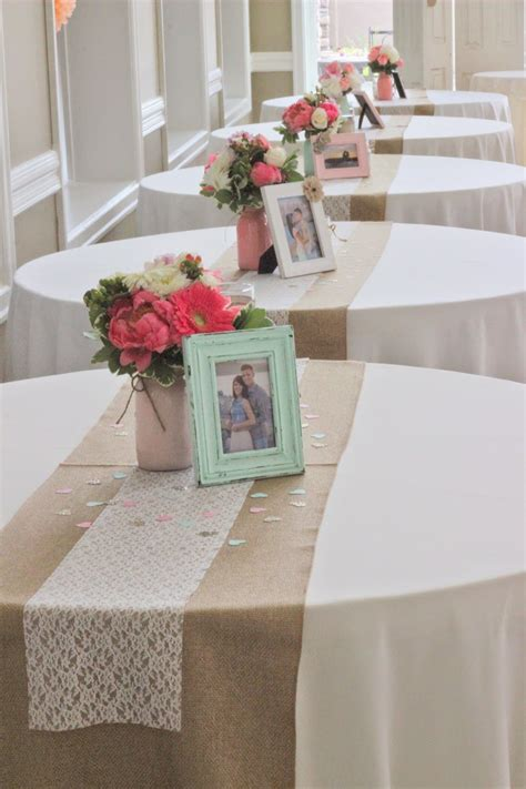 picture frame centerpiece ideas celebration flair coral mint