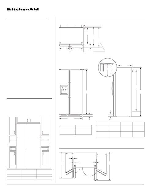 counter depth refrigeratore counter depth refrigerator dimensions kitchenaid