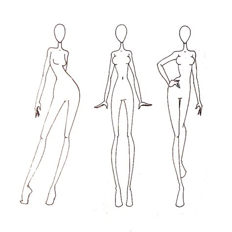 fashion templates pin fashion croquis templates figure polyvore