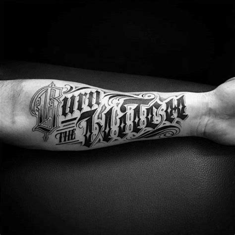 word tattoo ideas for men 60 typography tattoos for word font design ink ideas