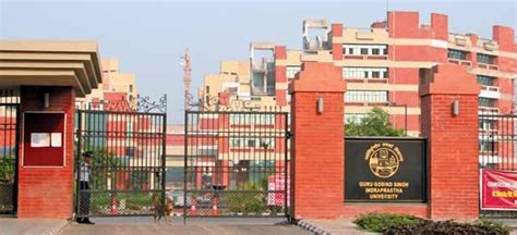 Ip Mba Colleges In Delhi by Guru Gobind Singh Indraprastha Ggsipu New