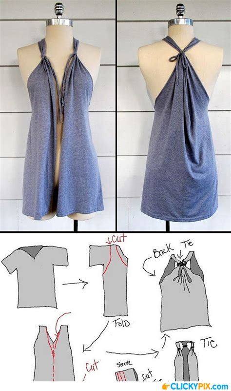 Diy Clothing Ideas diy clothing refashion ideas 4 clicky pix
