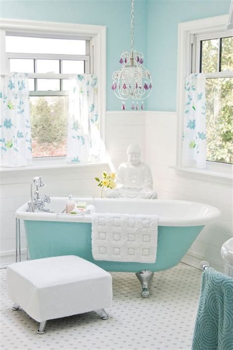 pale blue bathrooms light aqua blue white bathroom eclectic living home