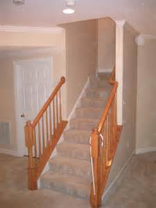 Custom Stair Railing Pictures For Bt Martin Contractors In Frederick Md 21702