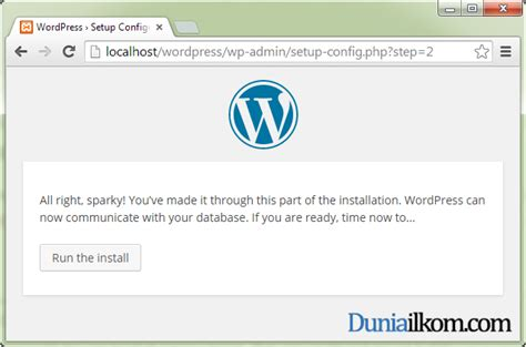 tutorial membuat wordpress offline dengan xp tutorial belajar wordpress cara menginstall wordpress