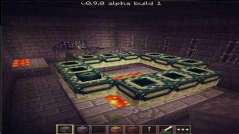 minecraft pe new portal new end portal minecraft pocket edition update 0 9 0