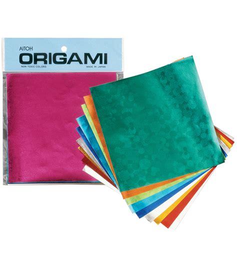 Foil Origami Paper - aitoh embssed foil origami paper 20 pkg jo
