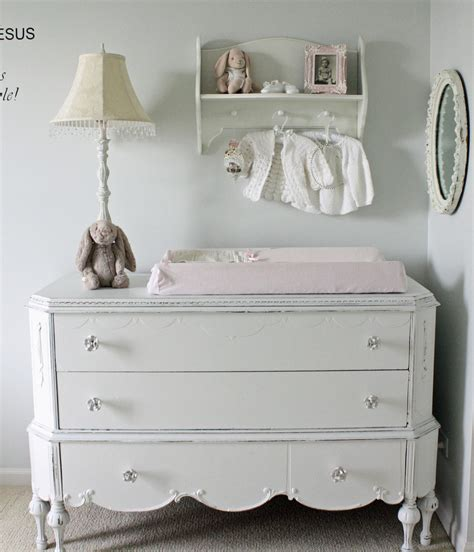 Antique Baby Changing Table Sublime Distressed Antique White Dresser Decorating Ideas Gallery In Family Room Traditional