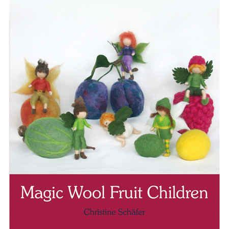 Tas Fruit Magic 1 magic wool fruit children