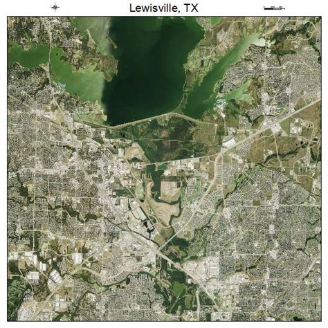 lewisville texas map aerial photography map of lewisville tx texas
