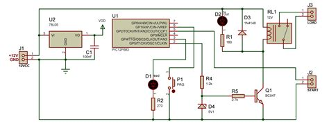time delay relay circuit diagram circuit timerplafoniera time delay relay circuit diagram