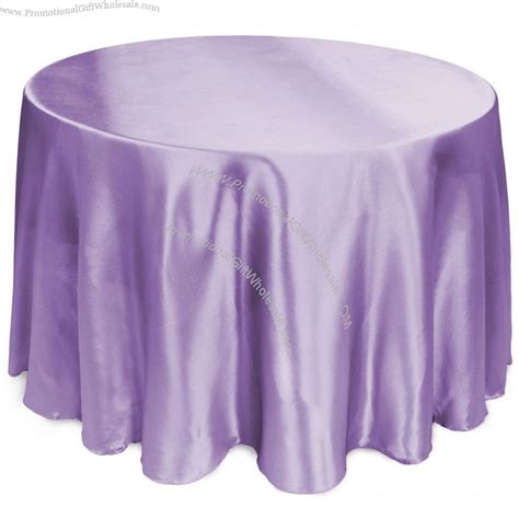 108 inch satin tablecloth lavender cheap price