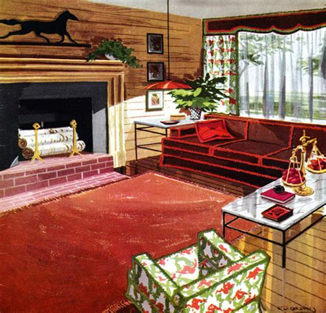 fifties home decor plan59 retro 1940s 1950s decor furniture marvin