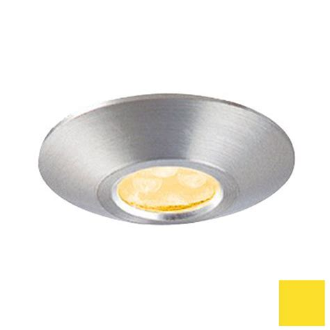 shop jesco 1 625 in hardwired cabinet led puck light