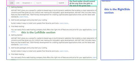 bootstrap navbar full width phpsourcecode net