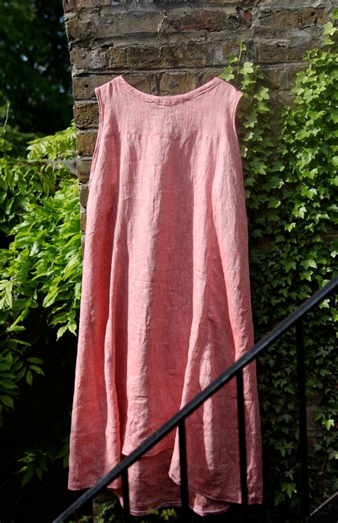 strawberry summer dress