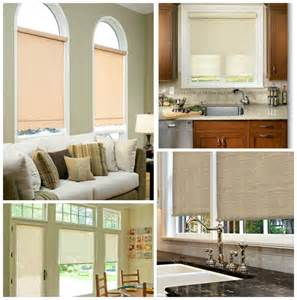 Window Treatment Types - roller shades different types of window treatments