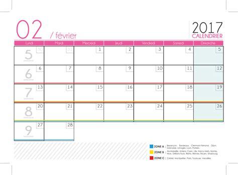 calendrier 2017 a imprimer 1 mois par page