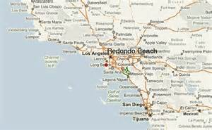 redondo california map redondo location guide