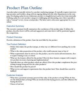 sample product plan template 9 free documents in pdf word