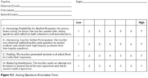 evaluation worksheet template downloads